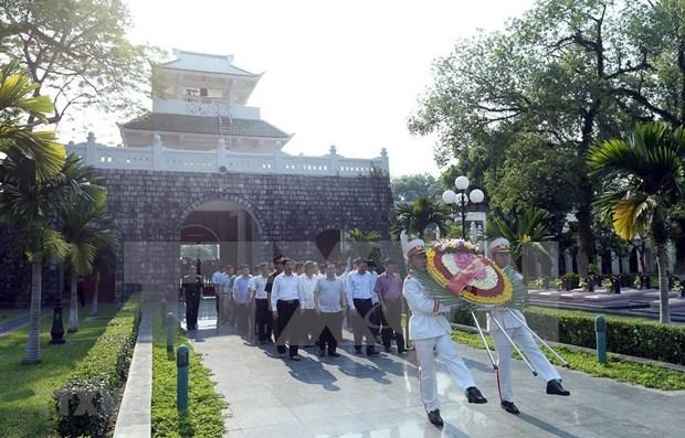 Celebration du 65e anniversaire de la victoire de Dien Bien Phu hinh anh 1