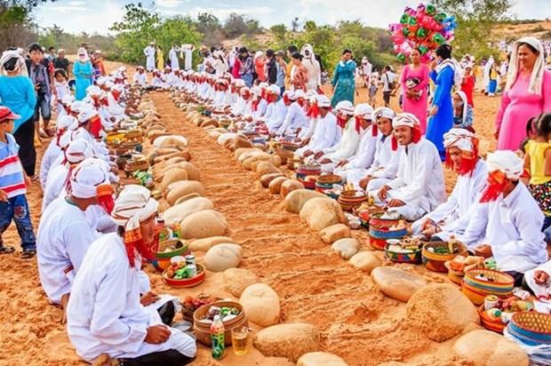 Les Cham fetent leur Nouvel An Ramuwan a Binh Thuan hinh anh 1