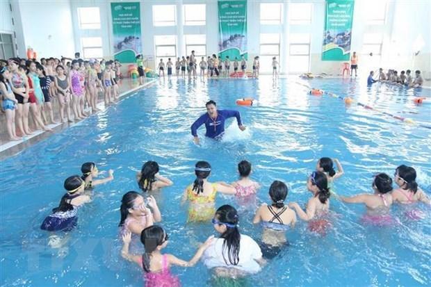 Noyades : renforcer l'apprentissage de la nage a l'ecole hinh anh 1