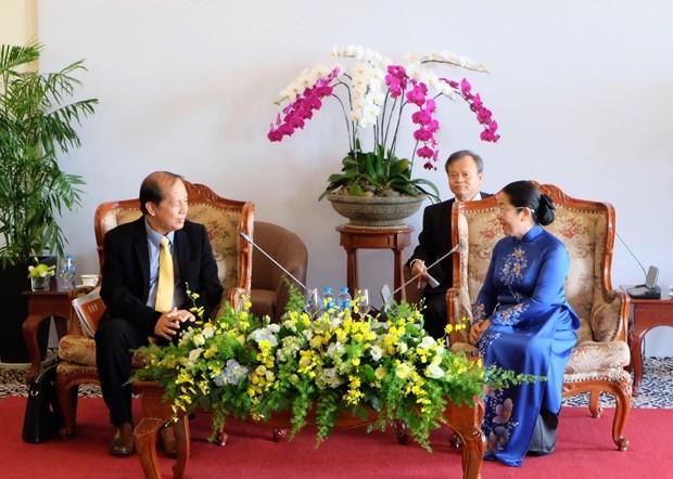 Renforcer l'amitie entre le Vietnam et le Cambodge hinh anh 1