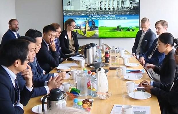 Developpement urbain: Hanoi cherche des opportunites de cooperation avec la Norvege hinh anh 1