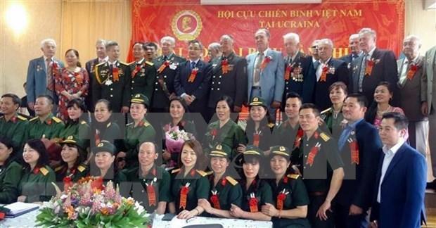 Le 2e Congres de l'Association des anciens combattants du Vietnam en Ukraine hinh anh 1