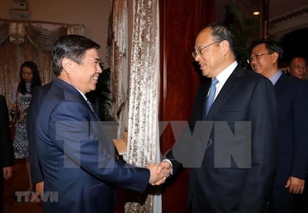 HCM-Ville et la province chinoise du Yunnan cherchent a elargir leur cooperation hinh anh 1