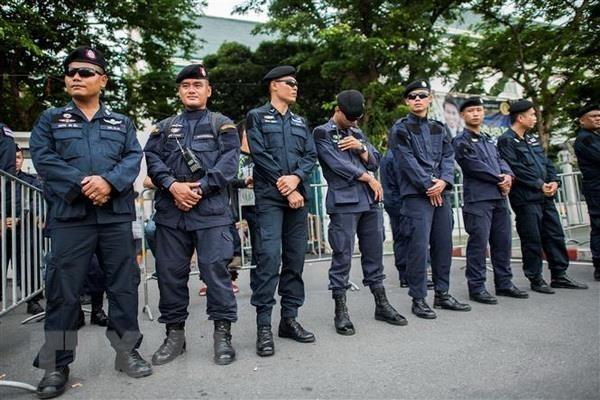 Thailande: pres de 10.000 policiers deployes pour la securite du 34e Sommet de l'ASEAN hinh anh 1