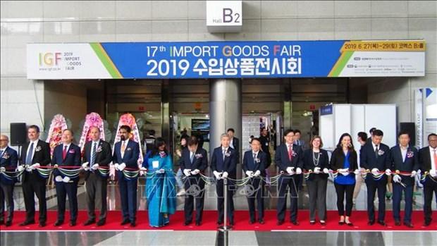 Les entreprises vietnamiennes participent a la foire des importations 2019 a Seoul hinh anh 1