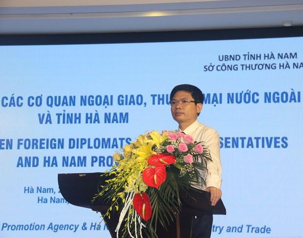 Promotion de la cooperation en matiere de commerce exterieur a Ha Nam hinh anh 1