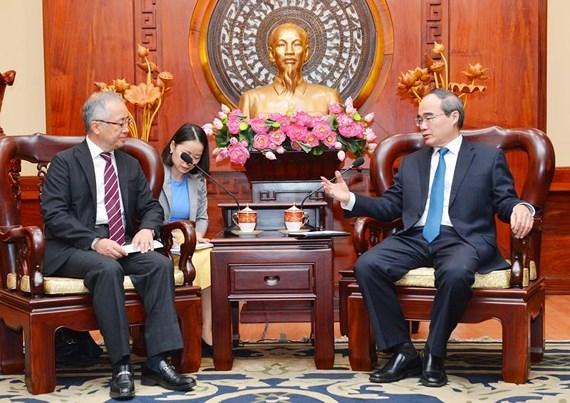 Ho Chi Minh-Ville accelere l'avancement des projets finances par JICA hinh anh 1