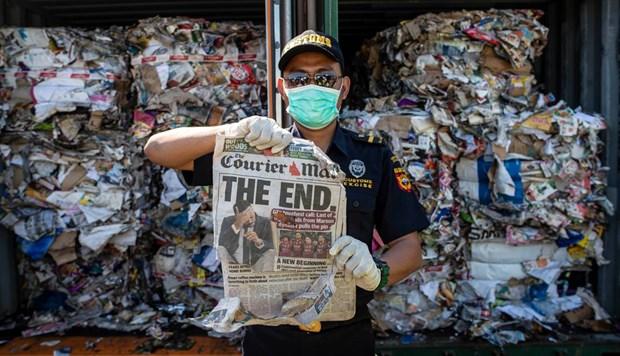 L'Indonesie va renvoyer 210 tonnes de dechets a l'Australie hinh anh 1