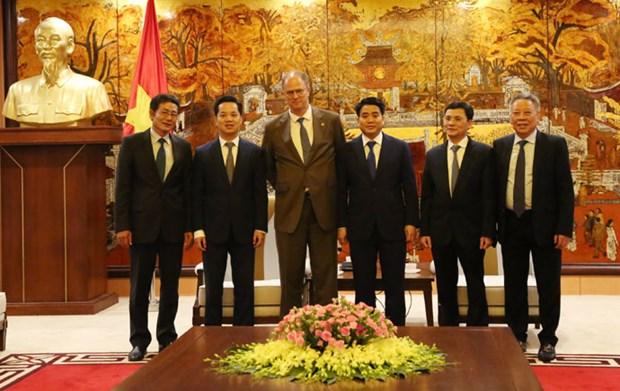 Promouvoir la cooperation entre Hanoi et l'Allemagne hinh anh 1