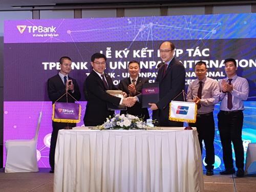UnionPay International coopere avec TPBank pour elargir le paiement par carte et code QR hinh anh 1