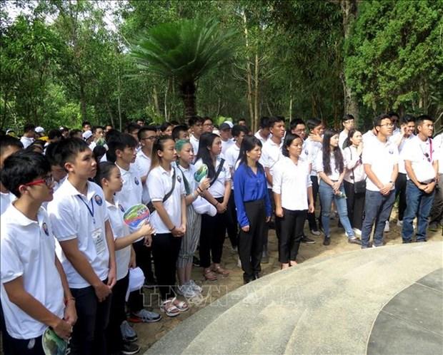 Camp d'ete 2019 : Les jeunes Viet kieu en visite dans la province de Quang Ngai hinh anh 1