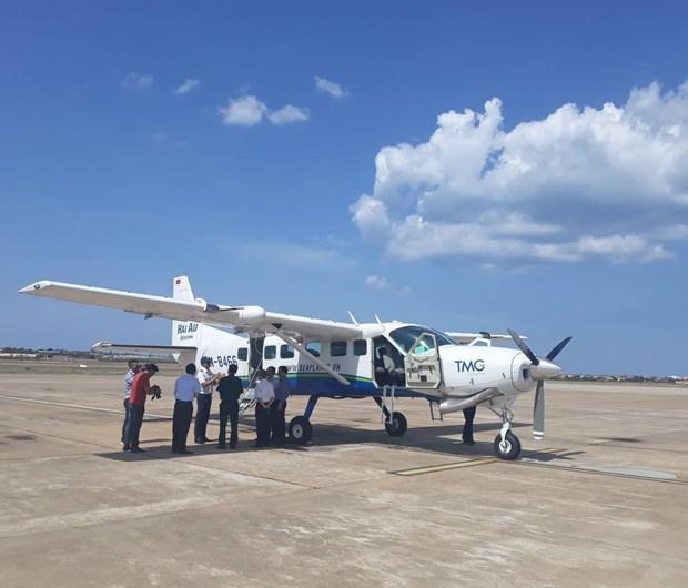 Ouverture de la ligne aerienne Dong Hoi – Da Nang et des vols panoramiques a Quang Binh hinh anh 1