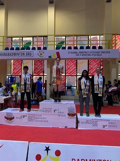 Badminton : Vu Thi Trang remporte l'or du tournoi JE Wilson International hinh anh 1