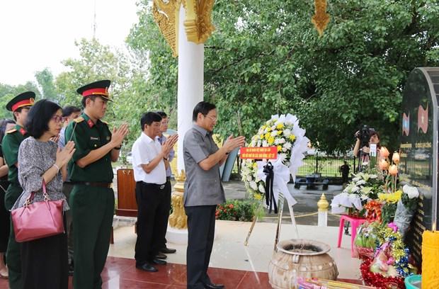 Commemoration des Morts pour la Partrie au Laos et au Cambodge hinh anh 1