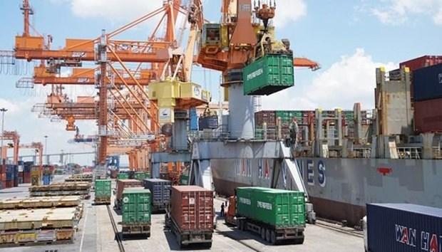Exportation excedentaire de 1,8 milliard de dollars en sept mois hinh anh 1