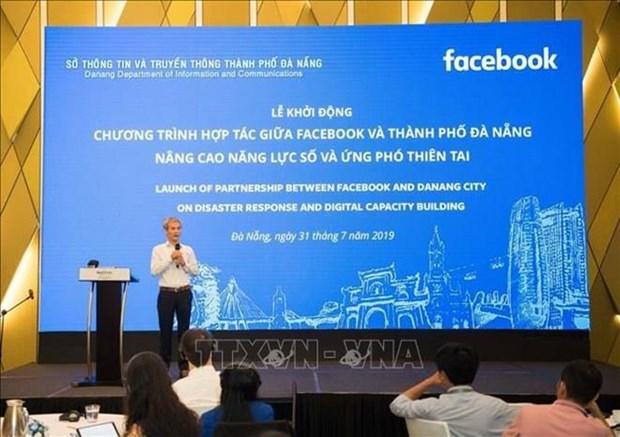 Da Nang et Facebook s'unissent pour lutter contre les catastrophes naturelles hinh anh 1