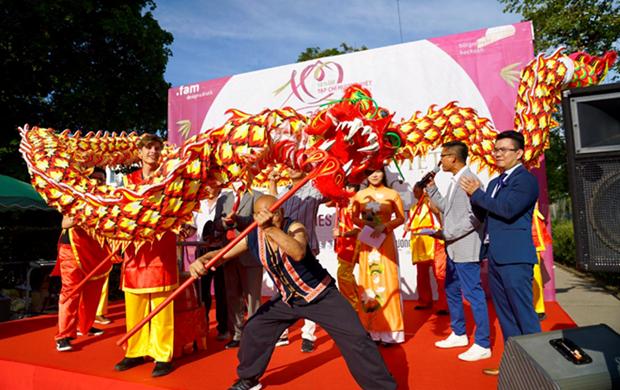 Le festival de la culture vietnamienne - Huong Viet 2019 en Allemagne hinh anh 1