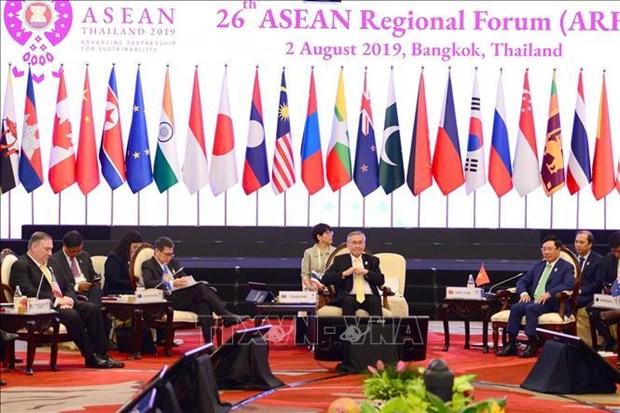 Ouverture du 26e Forum regional de l'ASEAN hinh anh 1