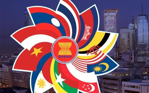 Celebration du 52e anniversaire de la fondation de l'ASEAN a Ho Chi Minh-Ville hinh anh 1