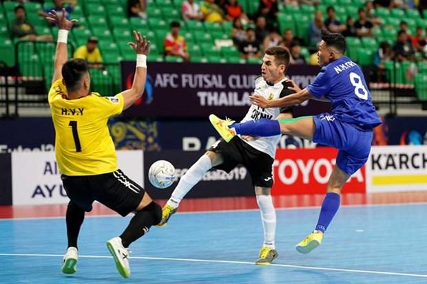 Championnat des clubs de futsal d'Asie 2019 : Thai Son Nam finit 3e hinh anh 1