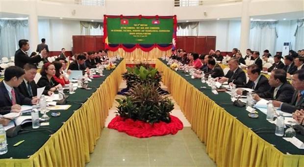 Reunion des hauts fonctionnaires Vietnam-Cambodge a Phnom Penh hinh anh 1
