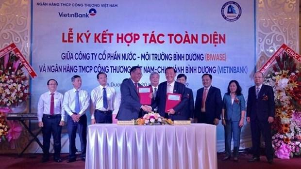 Binh Duong: plus de 172 millions d'USD pour realiser des projets d'approvisionnement en eau hinh anh 1