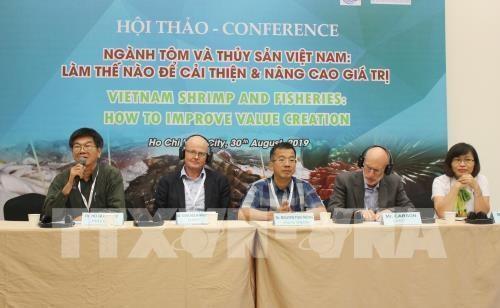 Des pistes pour developper l'industrie de la crevette vietnamienne hinh anh 1
