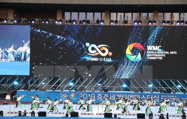 Le Vietnam participe aux World Martial Arts Masterships de Chungju 2019 hinh anh 1