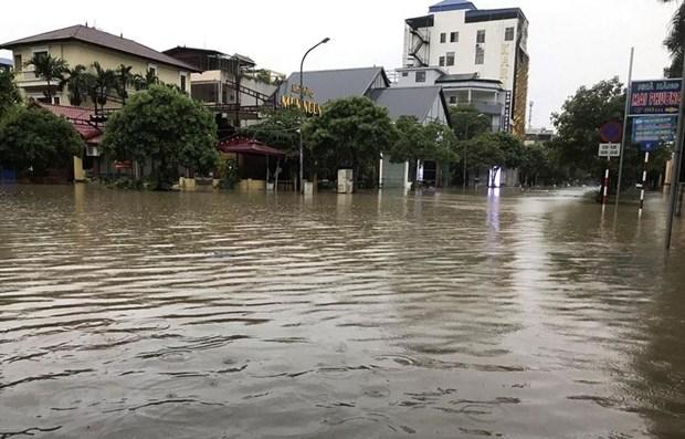 De fortes pluies causent de lourds degats dans le Nord hinh anh 1