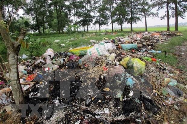Vinh Phuc oeuvre pour resoudre le probleme des dechets plastiques hinh anh 1