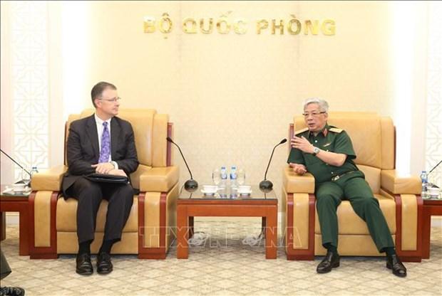 Renforcement de la cooperation de defense entre le Vietnam et les Etats-Unis hinh anh 1