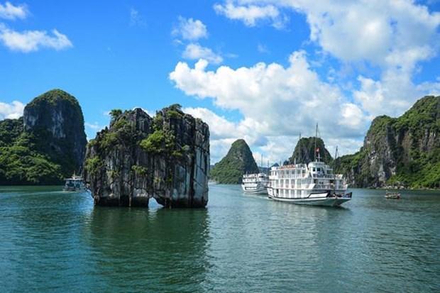 La baie d'Ha Long, l'une des attractions les plus populaires en Asie hinh anh 1