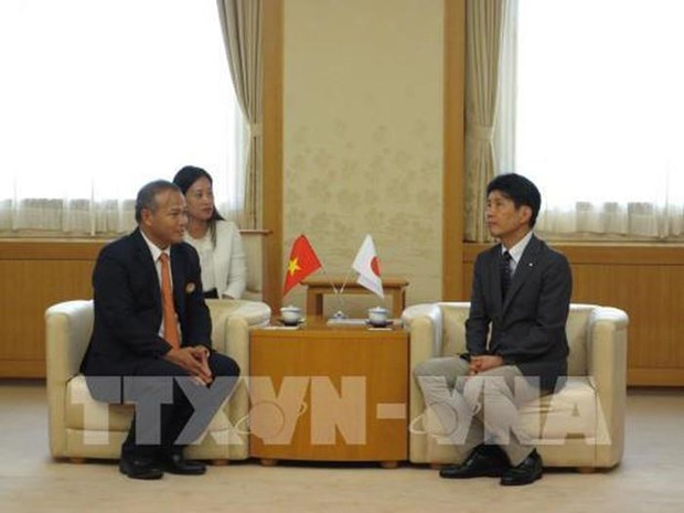 Le gouverneur de Gunma (Japon) s'engage a soutenir les Vietnamiens hinh anh 1