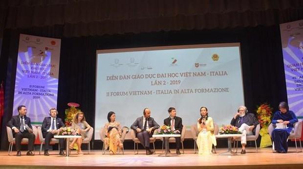 Forum d'education universitaire Vietnam- Italie hinh anh 1