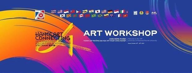 Hanoi Art Connecting 2019 va attirer 140 artistes de differents pays hinh anh 1