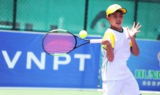 Ouverture des Championnats de tennis U14 d'Asie de Da Nang 2019-Groupe A hinh anh 1