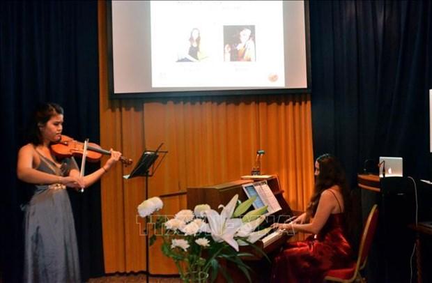 Nuit musicale du compositeur Nguyen Van Quy a Geneve hinh anh 1