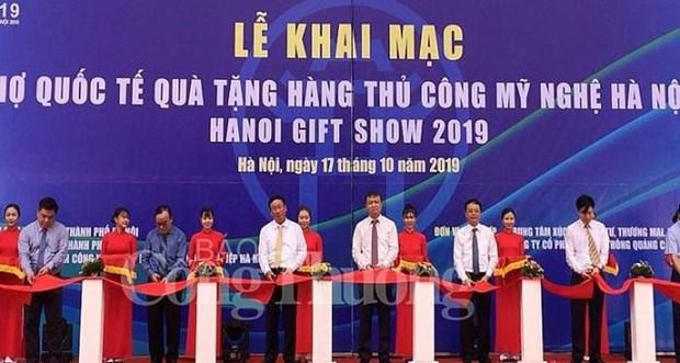 Ouverture de la Foire Hanoi Gift Show 2019 hinh anh 1