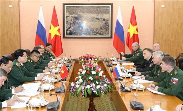 Renforcer la cooperation de defense Vietnam - Russie hinh anh 1