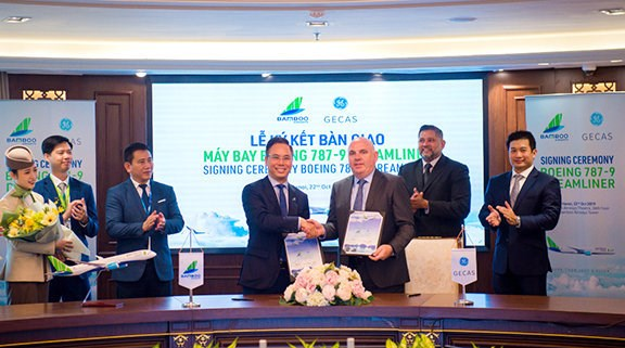 Bamboo Airways recoit deux Boeing 787-9 Dreamliner hinh anh 1