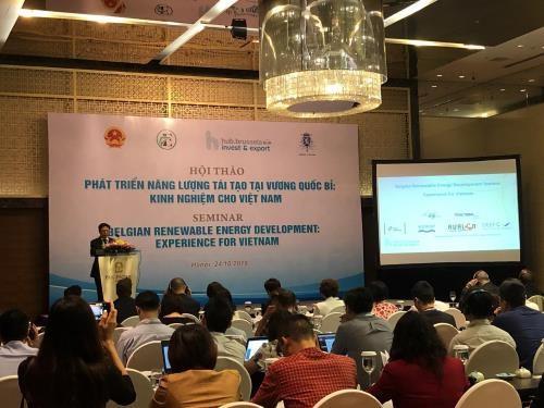 Partage des experiences dans le developpement des energies renouvelables Vietnam-Belgique hinh anh 1