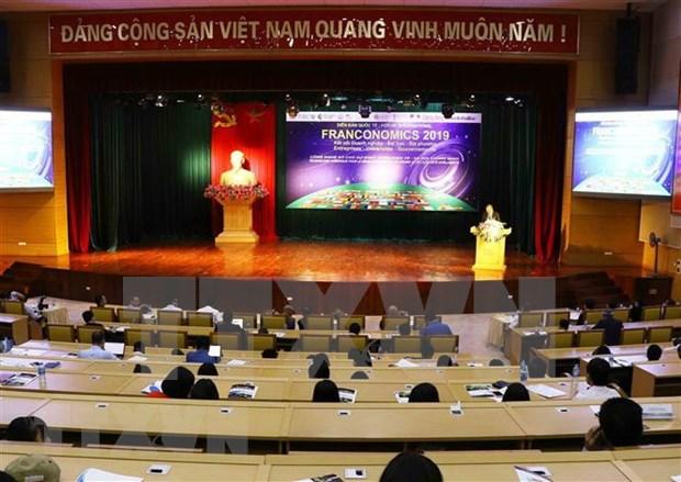 Forum international Franconomics a Hung Yen hinh anh 1