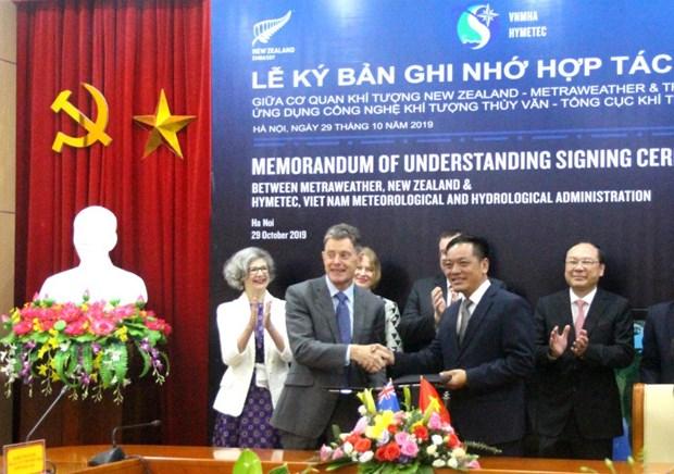 Le Vietnam et la Nouvelle-Zelande cooperent dans la meteorologie hinh anh 1