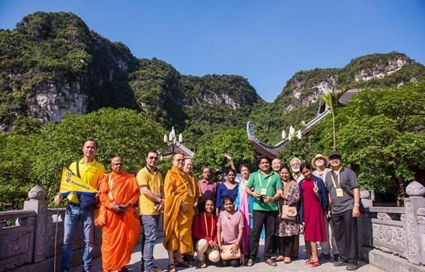 Vesak de l'ONU 2019: des delegues internationaux decouvrent la beaute du Vietnam hinh anh 1