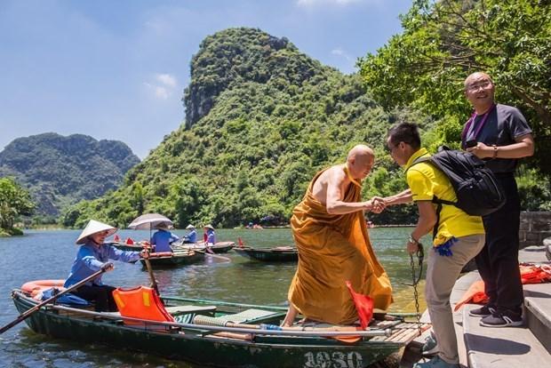 Vesak de l'ONU 2019: des delegues internationaux decouvrent la beaute du Vietnam hinh anh 2