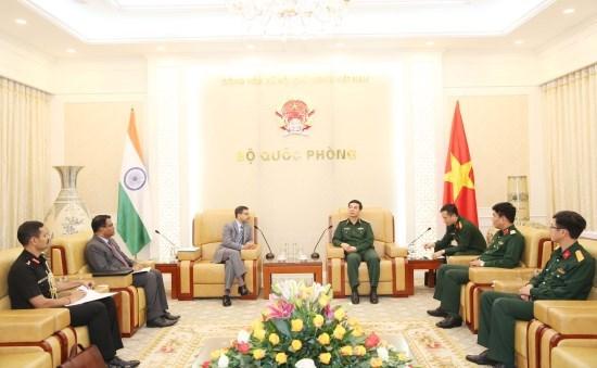 Le Vietnam et l'Inde renforcent leur cooperation dans la defense hinh anh 1