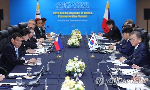 Seoul et Manille conviennent d'oeuvrer a la signature d'un accord de libre-echange hinh anh 1