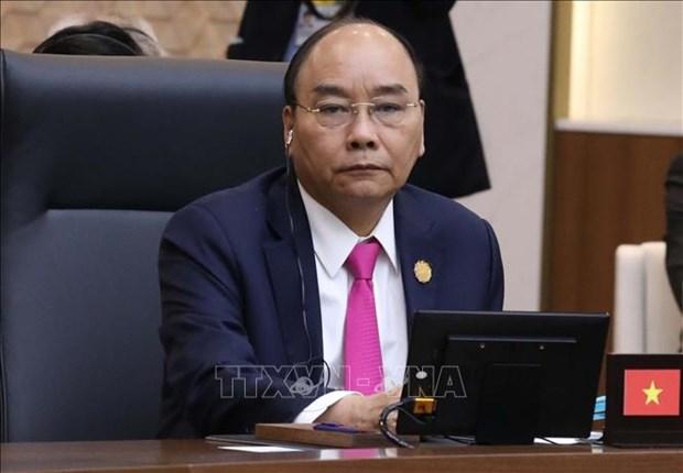 Le PM Nguyen Xuan Phuc participe a la 2e session du Sommet commemoratif ASEAN-R. de Coree  hinh anh 1