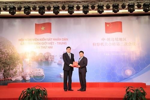 La 2e reunion des Parquets populaires des provinces frontalieres Vietnam - Chine hinh anh 1
