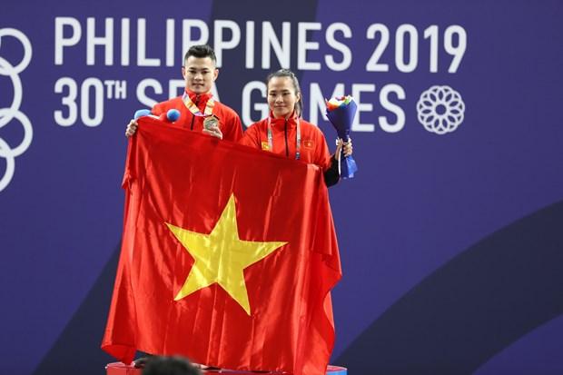 SEA Games 30: deux medailles d'or supplementaires pour le Vietnam hinh anh 1